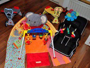 Kinderopvang Barendrecht : Baby speelgoed dat wordt gebruikt bij de Banjo Bengeltjes