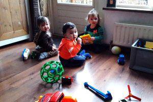 Gastouder Barendrecht: spelen en samen delen bij de Banjo Bengeltjes