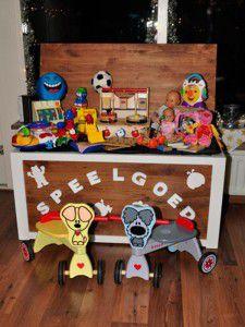 Kinderopvang Barendrecht: Kleine selectie speelgoed / speelgoedkist de Banjo Bengeltjes